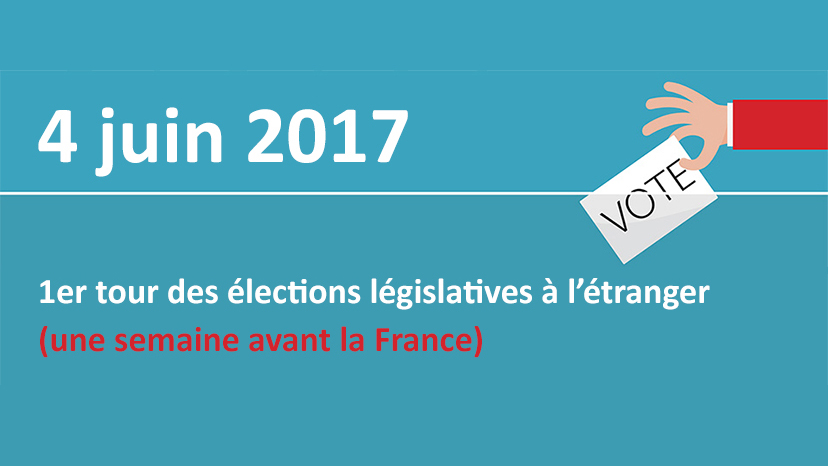 Legislatives 4 juin 2017